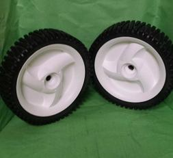 "CRAFTSMAN HEAVY DUTY SET OF 8"" FRONT DRIVE WHEELS 194231X427"