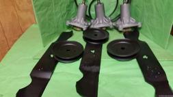 """Husqvarna 54"""" Deck Lawn mower Rebuild Kit LGT2654 Spindles B"""