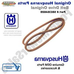 Husqvarna Lawn Mower Cutting Deck Belt / 580364609, 58036460