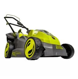 Sun Joe iON16LM Cordless Lawn Mower | 16 inch | 40V | Brushl