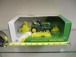 John Deere 345 Lawn Mower w/ Attachments by Ertl 1/16th Scal