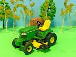 JOHN DEERE, RIDING TRACTOR, WITH LAWN MOWER DECK, ERTL