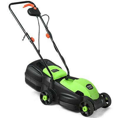 12 amp 13 inch electric push lawn