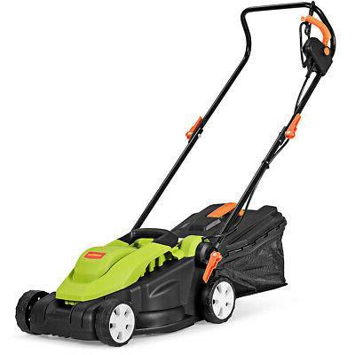 "IRONMAX 14"" 12Amp Lawn Mower Utility Electric Push Lawn Cord"