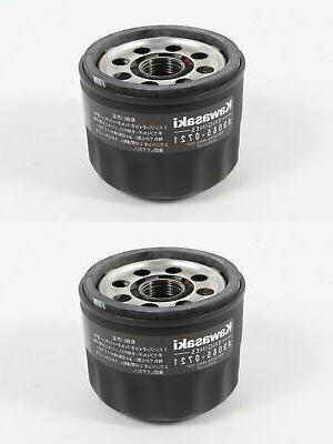 2 Pack Genuine Kawasaki 49065-7007 Oil Filter OEM