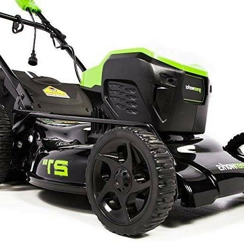 Corded Electric Lawn 21-Inch Self Propelled