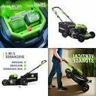 Greenworks 21-Inch 40V Self-Propelled Cordless Lawn Mower Ba