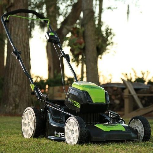 Greenworks 2500402 Lithium-Ion 21 in. Lawn Kit