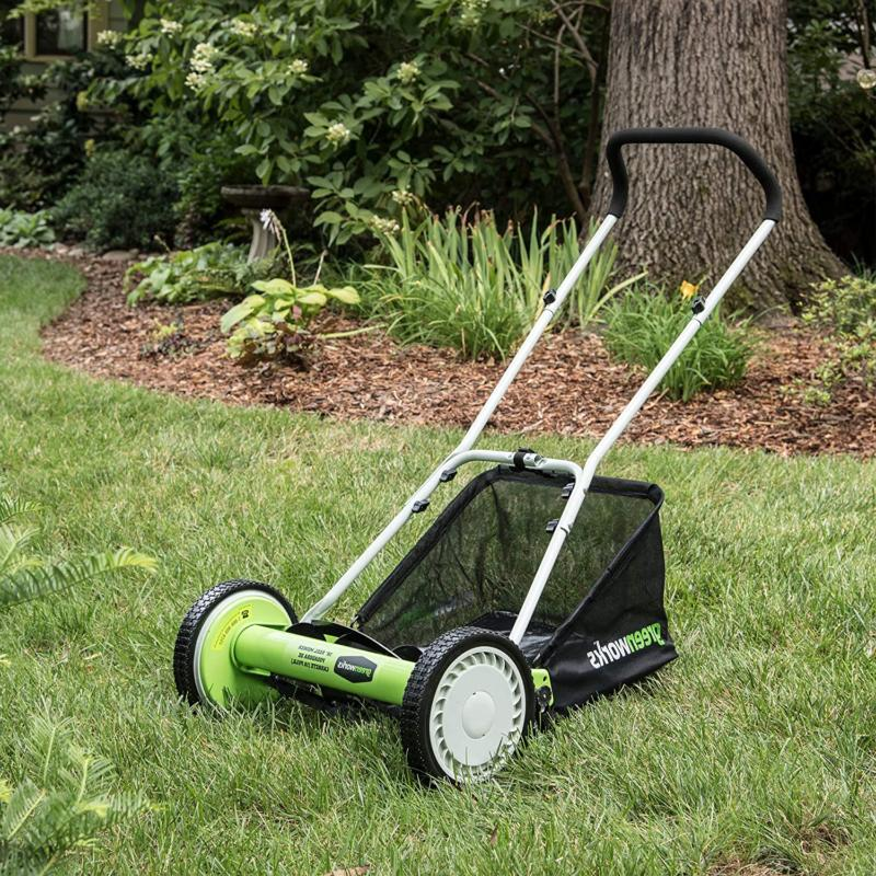 25052 push reel mower
