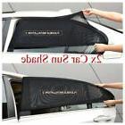 2 Pack Auto Sun Shade Rear Window Cover Sunshade UV Protecti