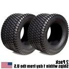 2PK 18X6.50-8 18X650-8 18/6.50-8 18X6.50X8 4PLY Rated Lawn M