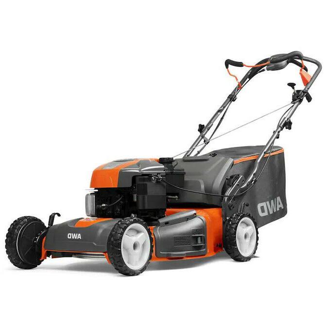 3 in 1 push mower 21 cut