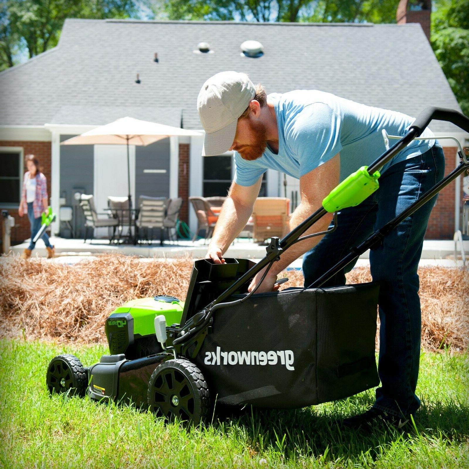 Greenworks Dual Mower