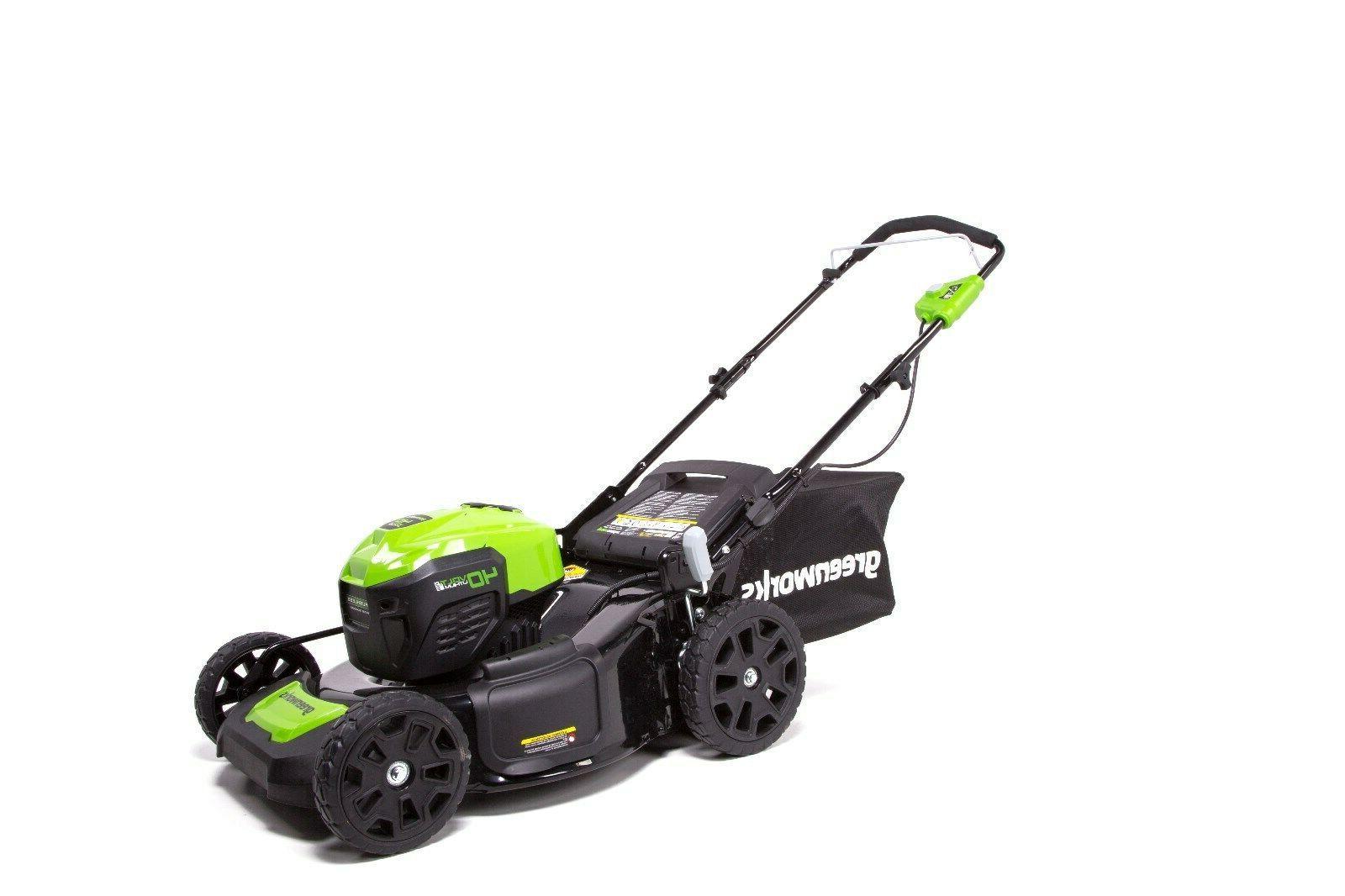 Greenworks 40V 21-in. Brushless Dual Mower