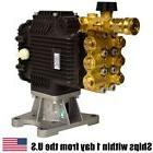 "EB4040HA 4000 PSI Pressure Washer Pump Horizontal Shaft 1"" F"