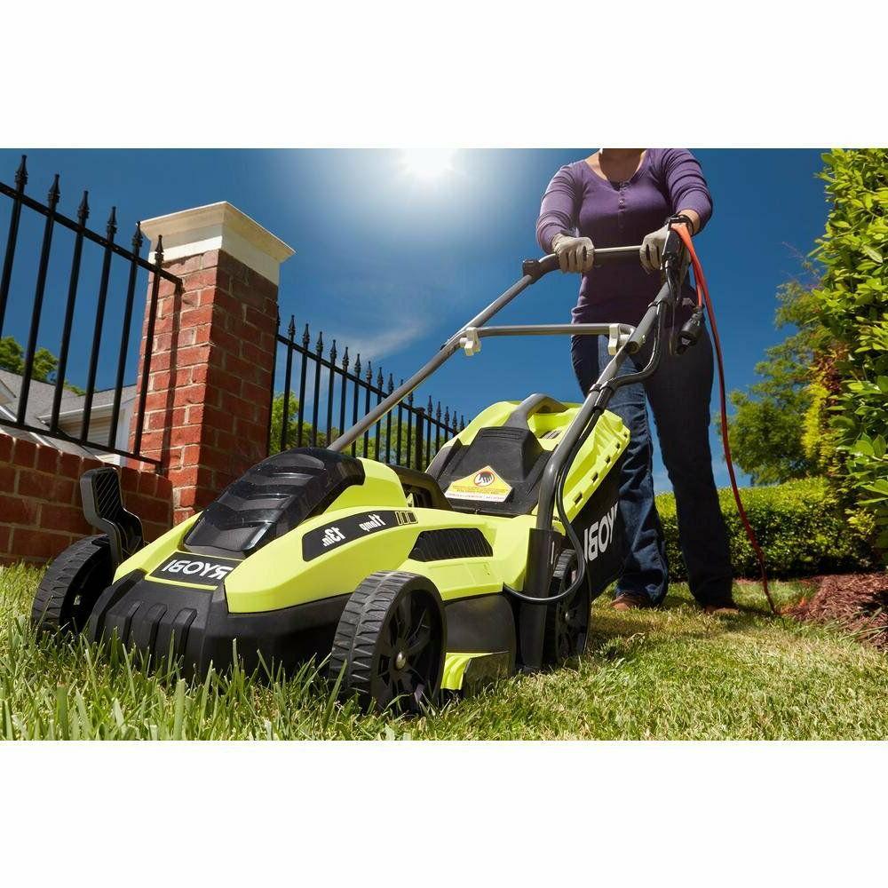 Best Electric Ryobi Push Backyard Gras Yard Corded