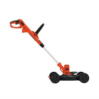 Black & Decker in. Compact Electric Lawn Mower BESTA512CM