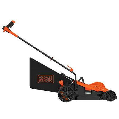 Black and 15-Inch Adjusting Comfortgrip Mower