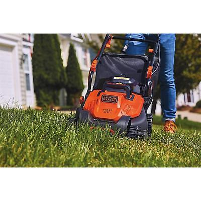 "BLACK+DECKER BEMW482ES Electric Mower 17"" Lawn Control Handle"