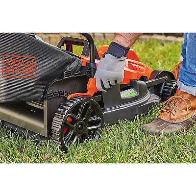 "BLACK+DECKER Electric Mower 17"" Lawn Handle"