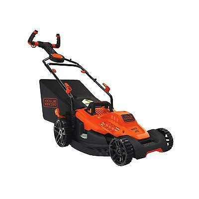black decker bemw482es electric mower 17 lawn