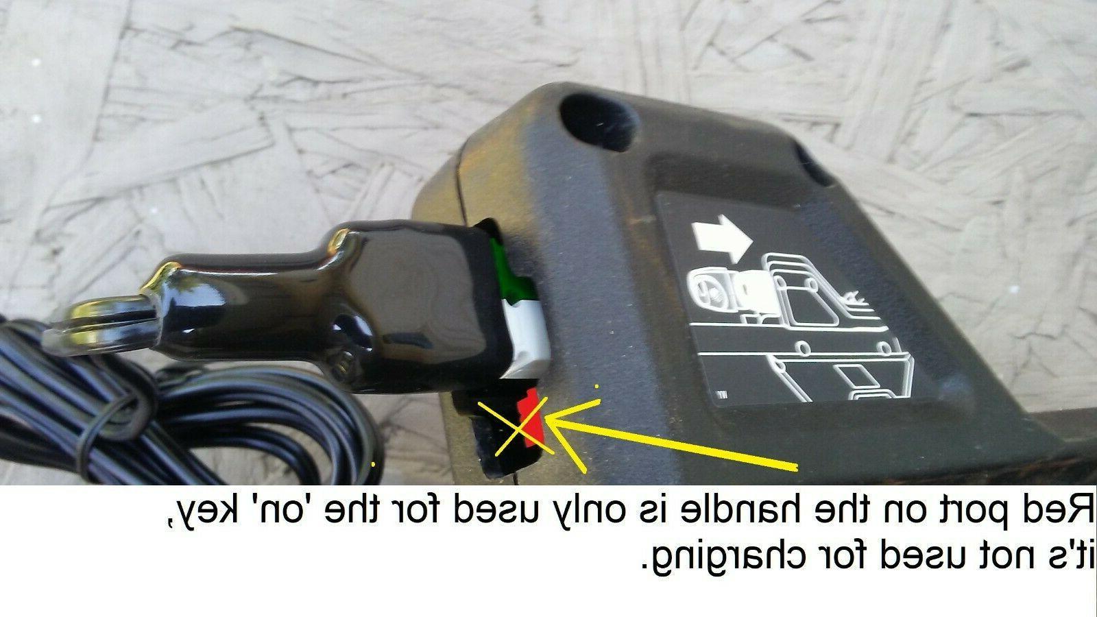 Replacement mower charger ETPCA-P360080U 90604959