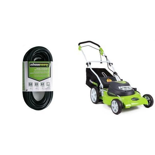 corded lawn mower 25022