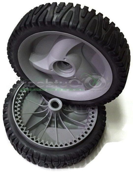 Set of 2 Drive Wheels 194231X460 583719501 Self Propelled Gr