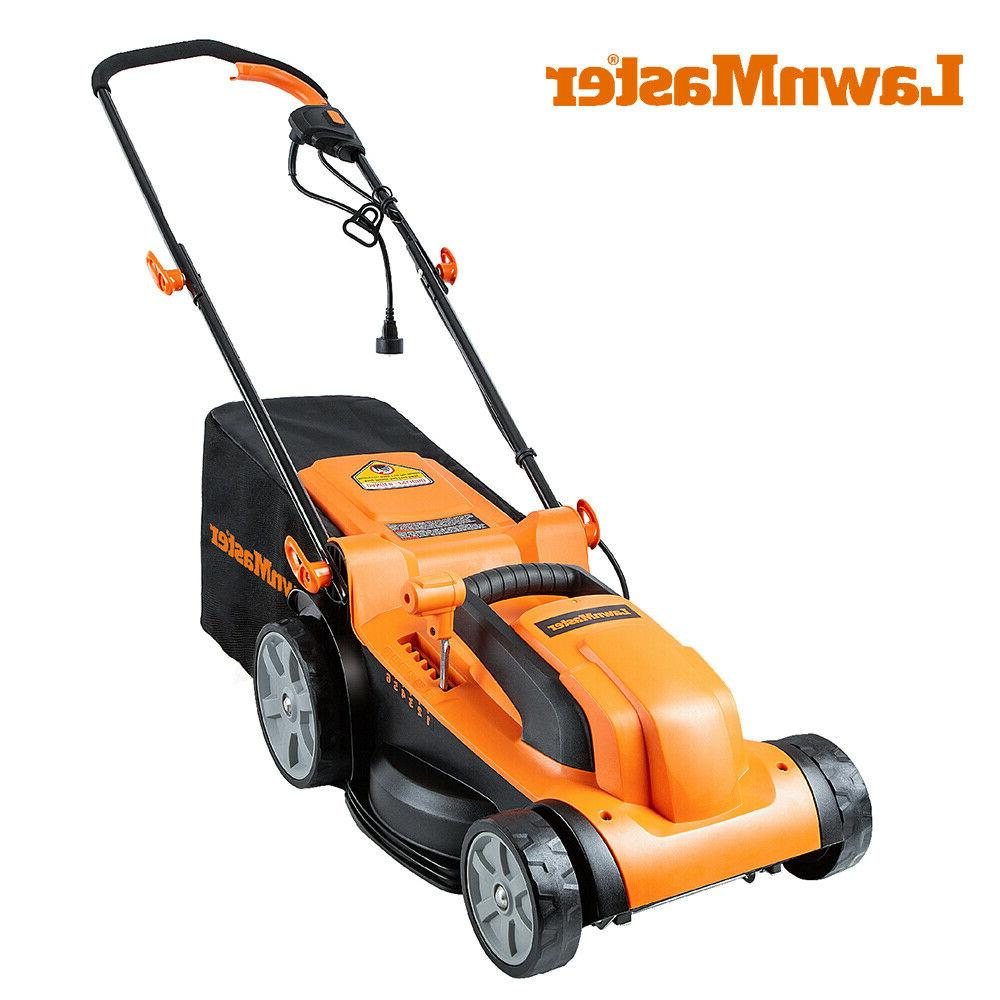 electric lawn mower 11amp 15 inch 12amp