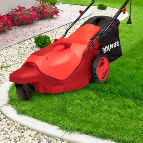 Sun Electric Lawn Mower 3-Wheels Inch | | 360 Turn