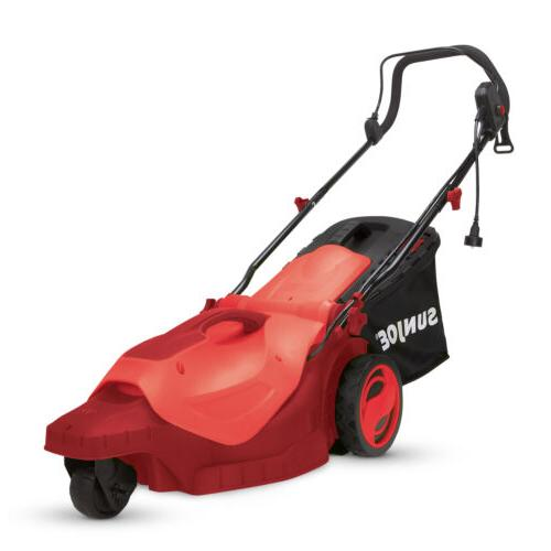 electric lawn mower 3 wheels 16 inch