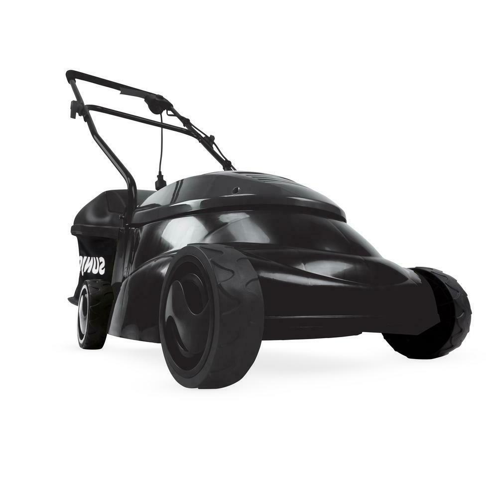 electric push 14 inch corded garden lawn