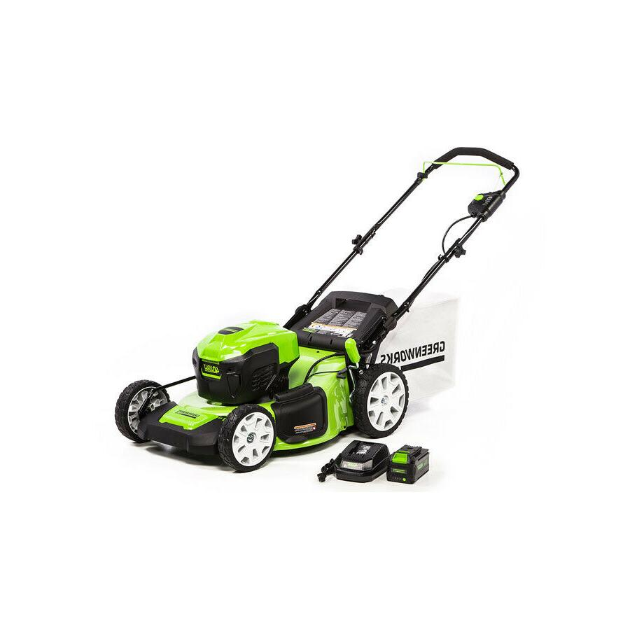 Greenworks 21'' Push Mower 40V Battery and