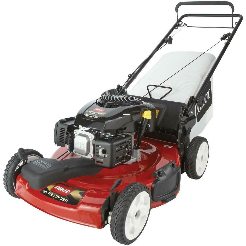 gas lawn mower self propelled
