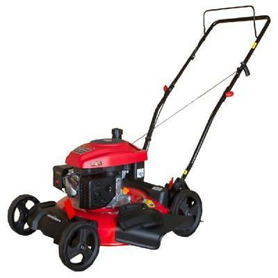 Gas Push Lawn Mower 2-in-1 170 cc Easy Pull Starting w/ 21 i