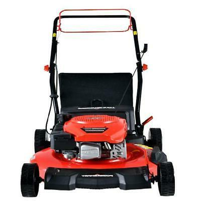 """21"""" Self Propelled Lawn Mower Walk Behind 3 In 1 Bag 170cc G"""