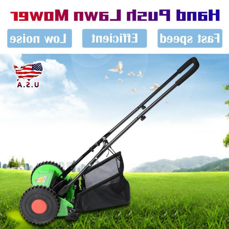 Manual Mower Grass 5-Blade