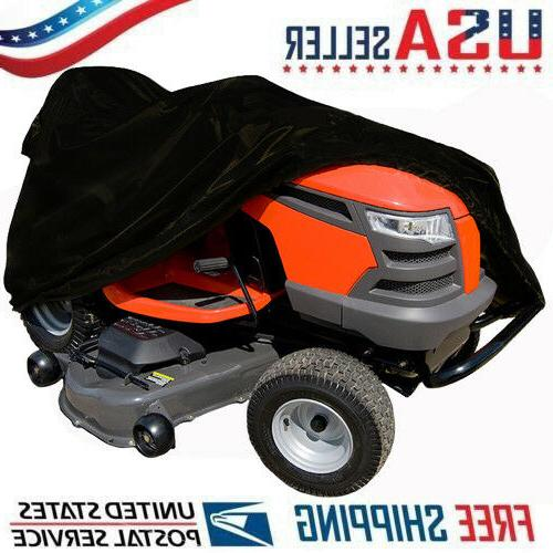 "Heavy Duty Riding Mower Lawn Tractor Cover 54"" Deck Husqvarn"