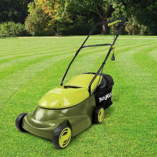 home electric corded push behind lawn mower