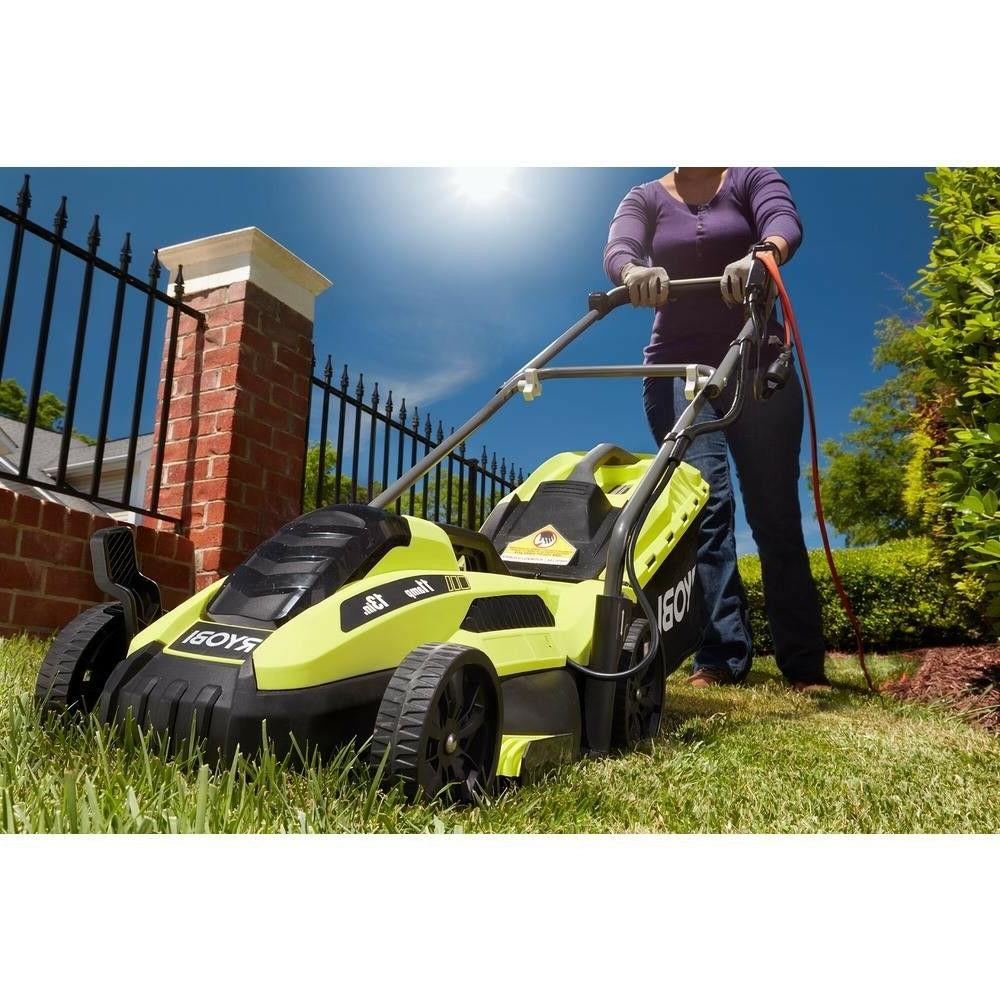 Lawn Mower Corded Walk Cutter Ryobi