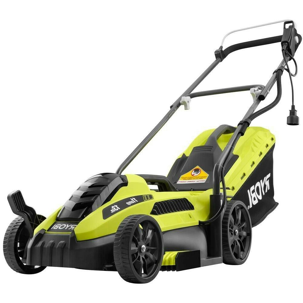 lawn mower corded electric walk