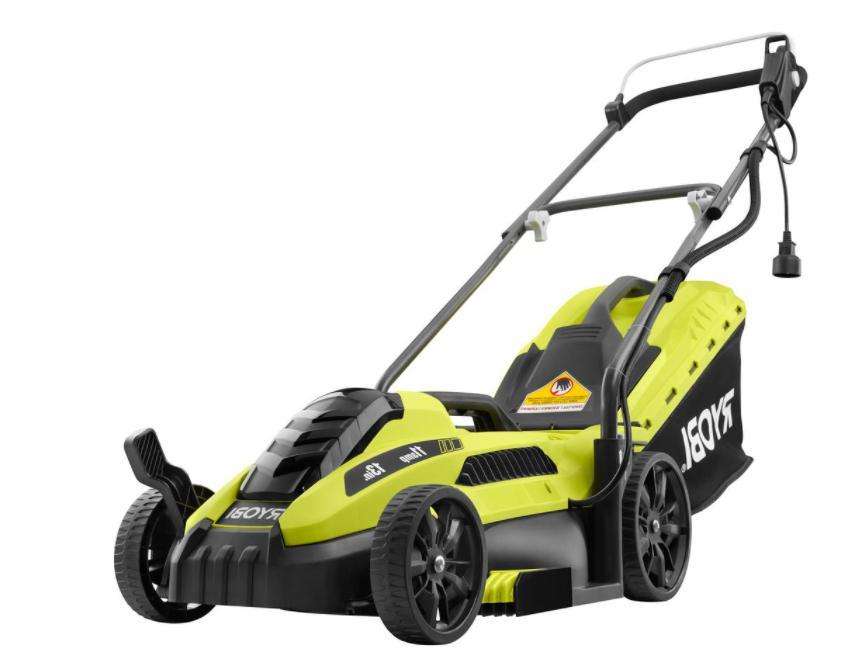 lawn mower electric push best walk behind