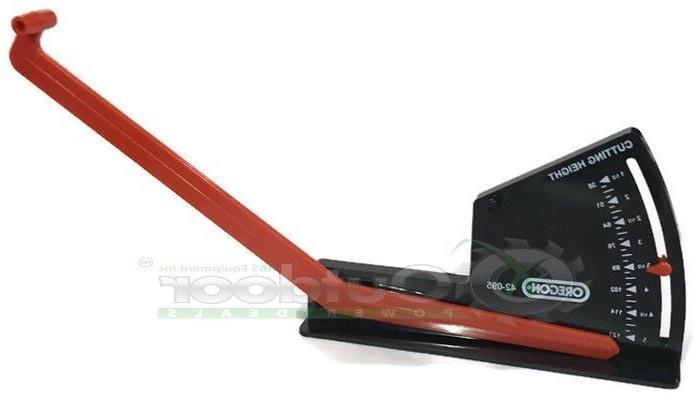 Lawn Mower Zero Turn Garden Tractor Deck Leveling Tool Gauge