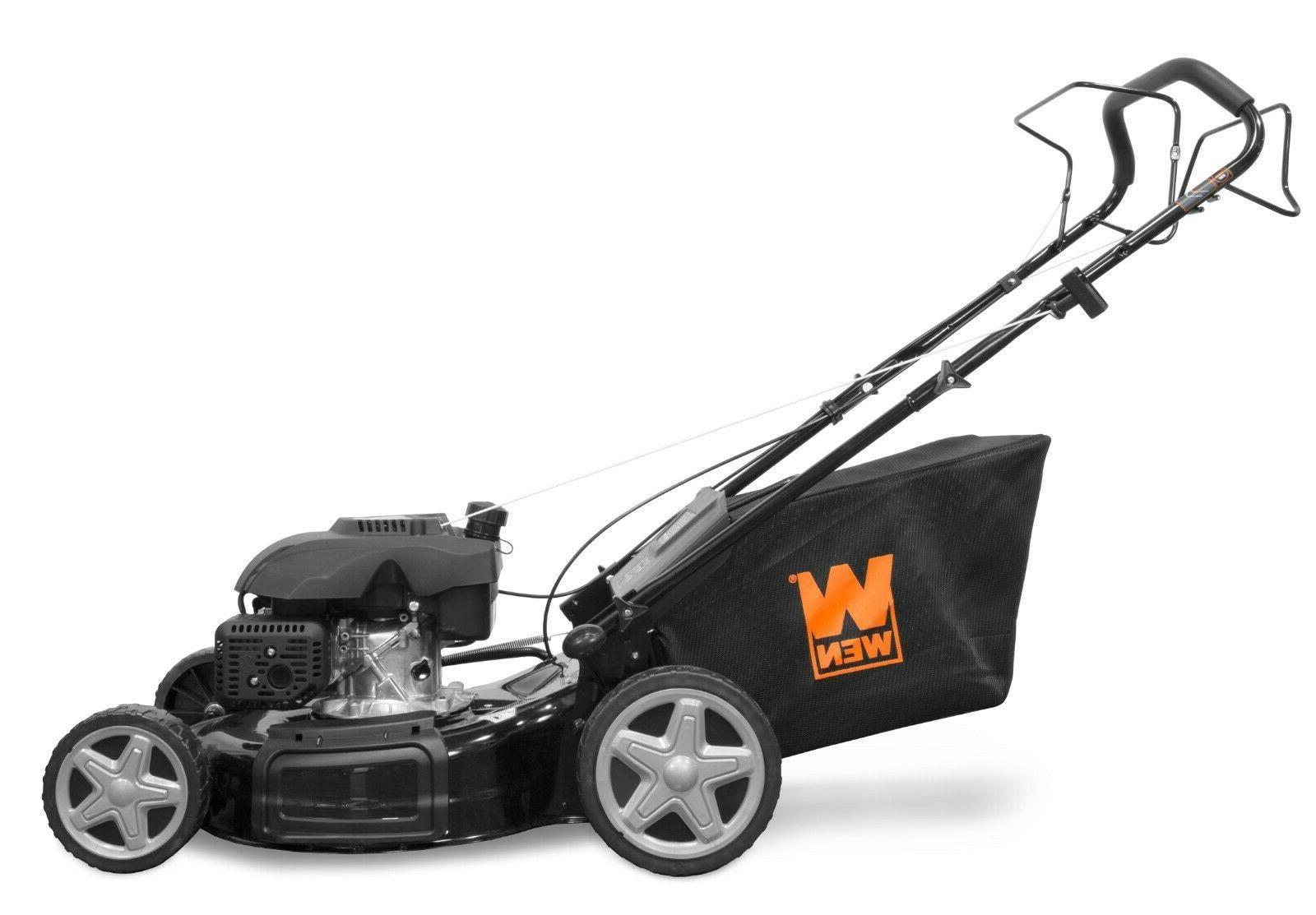 WEN Gas-Powered Self-Propelled Mower