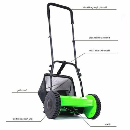 Manual Lawn Roller Walk Reel BR