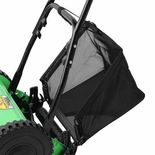 Manual Lawn Mower Roller Garden Push Walk Behind Reel BR