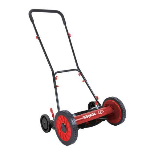 manual reel mower w o grass catcher