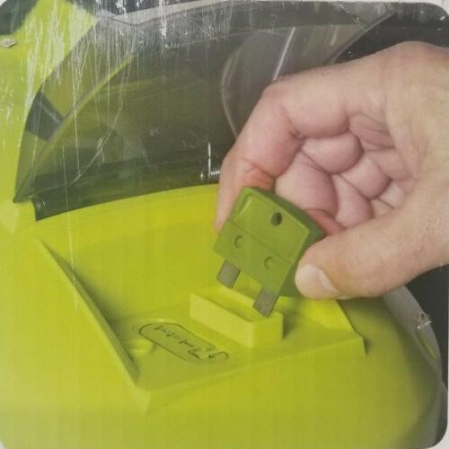 Sun Joe MJ401C Cordless Electric Push Mower, Green