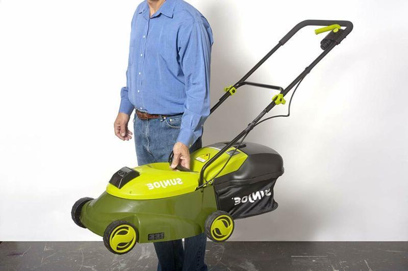 Sun Joe 28-Volt Cordless Push Lawn Mower, w/Rear Discharge