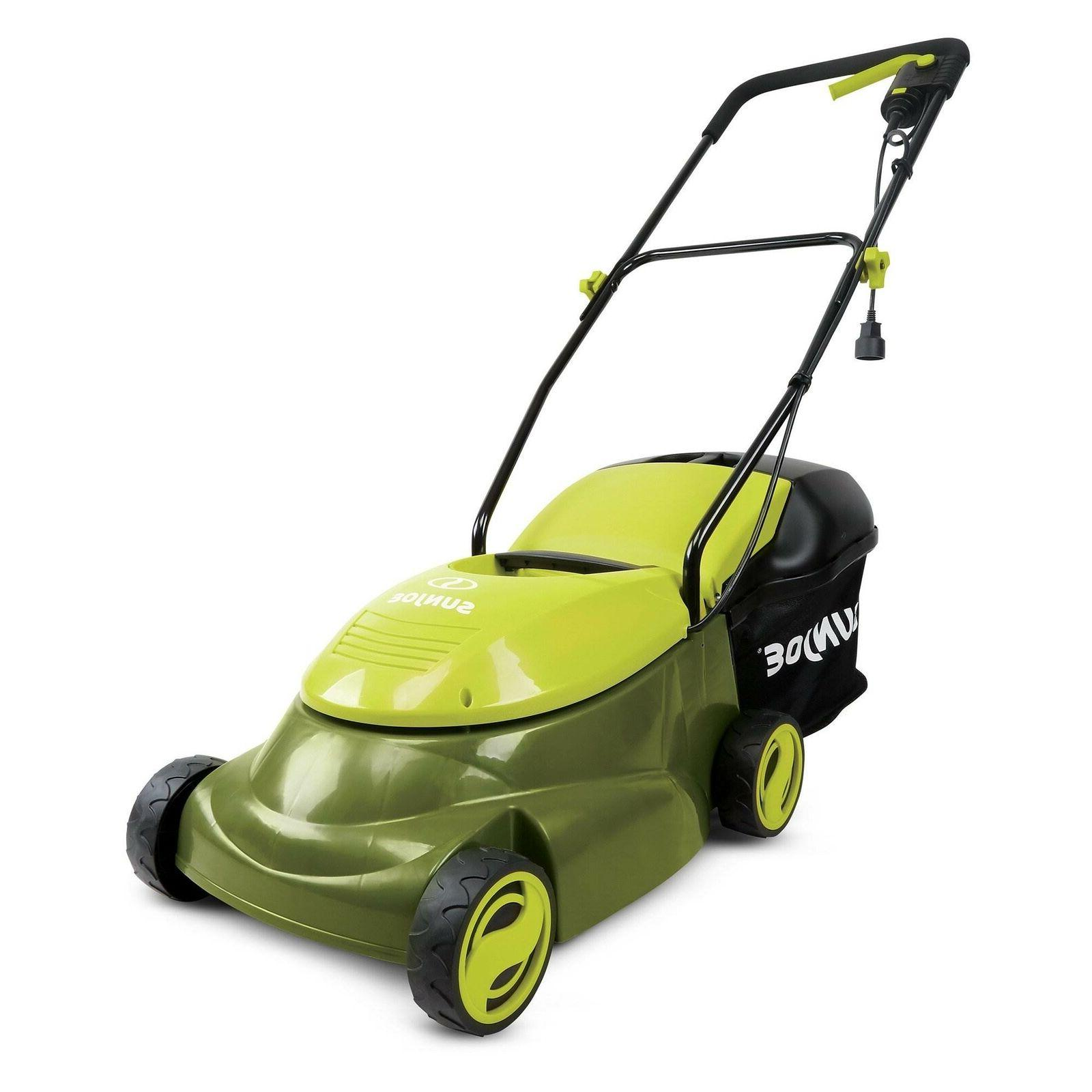 Sun MJ401E 14 Inch 12 Amp Electric Push Walk Behind Mower